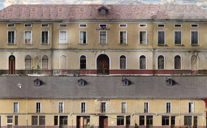 """Refurbishment of former barrack """"T. Salsa"""" for new Guardia di Finanza HQ"""
