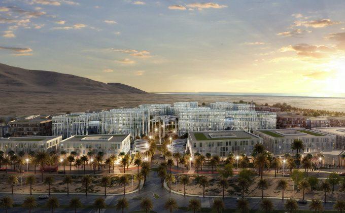 Masterplan per lo sviluppo dell&#8217;area<br> SUR Industrial Estate