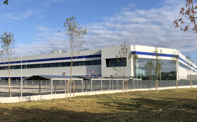 New logistic center <br>of Gruppo Teddy